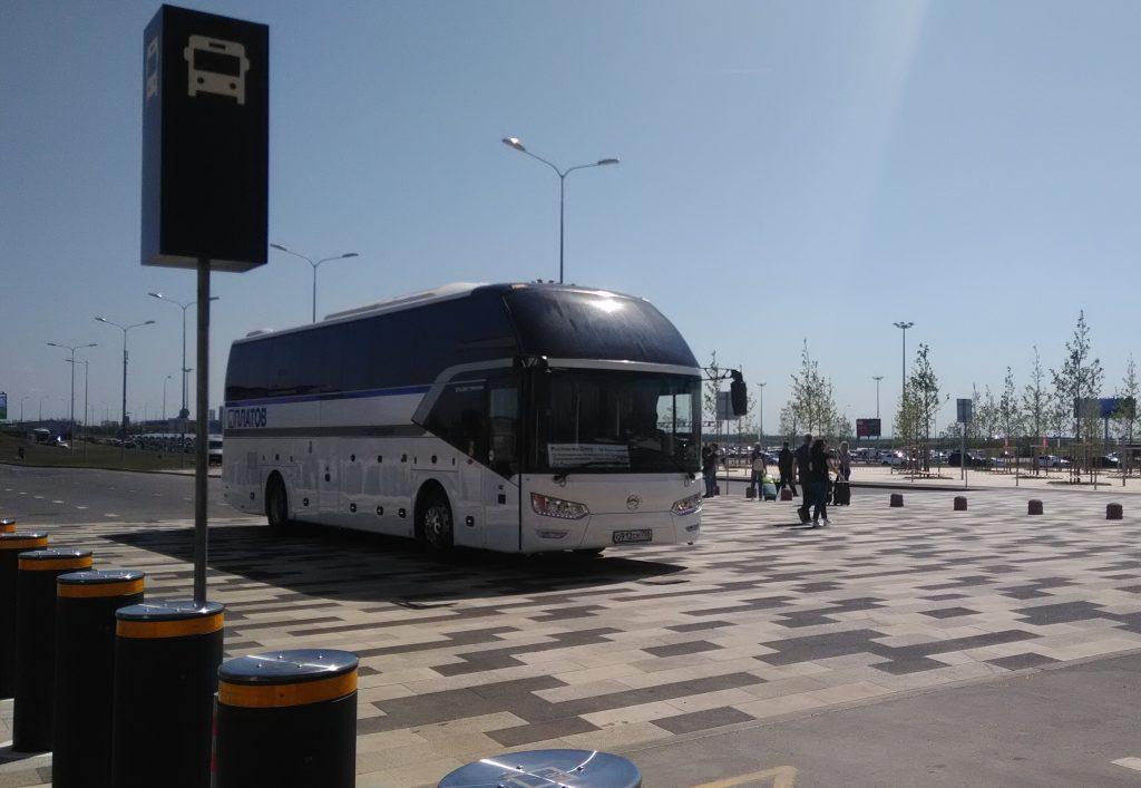 Автобус маршрут 700 от Ростова-на-Дону до аэропорта Платов