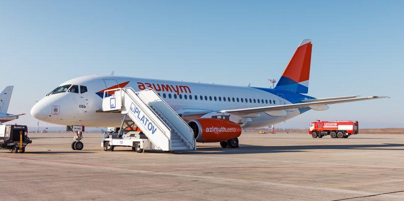 Авиакомпания Азимут: новые рейсы в Баку и Екатеринбург